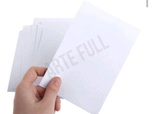 Papel Adhesivo Alto Brillo 50 Hojas Carta Etiquetas Laser