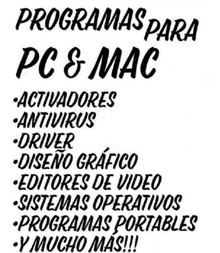 Software / Programas Computadoras Pc Y Mac Certificado