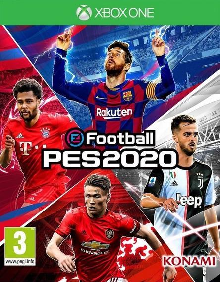 Jogo Pes 2020 Xbox One Mídia Digital Codigo 25 Dígitos