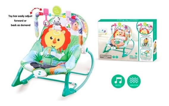 Mecedora De Bebe Verde C/sonido 1784605 E.normal