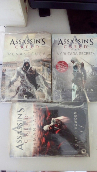 Assassins Creed Trilogia Livros