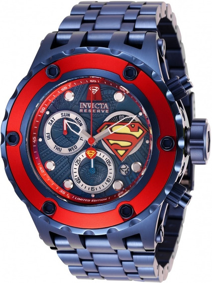 Relógio Invicta Dc Comics Superman Modelo 27099 Original