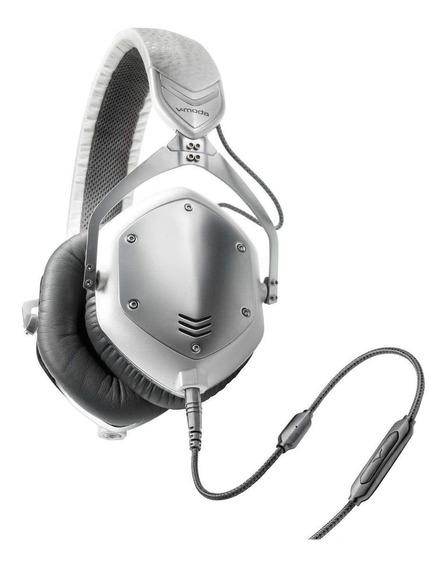 Fone de ouvido V-Moda Crossfade M-100 white silver