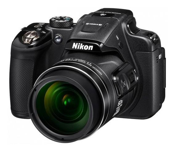 Câmera Digital Nikon Coolpix P610, Usada. Zoom De 60x