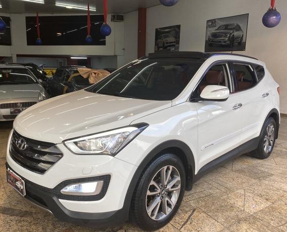 Hyundai Santa Fe 3.3 7l Teto+multimídia+banco Terra Cota