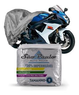 Capa Cobrir Moto Suzuki Gsx 650 F Impermeável Proteção Uv