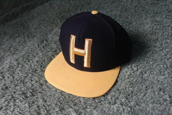Boné Hocks Preto E Amarelo (usado)