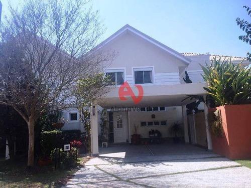 Imagem 1 de 30 de Scenic- Casa Com 3 Dorm (1 Suíte) À Venda, 205 M² - Alphaville - Santana De Parnaíba/sp - Ca5857