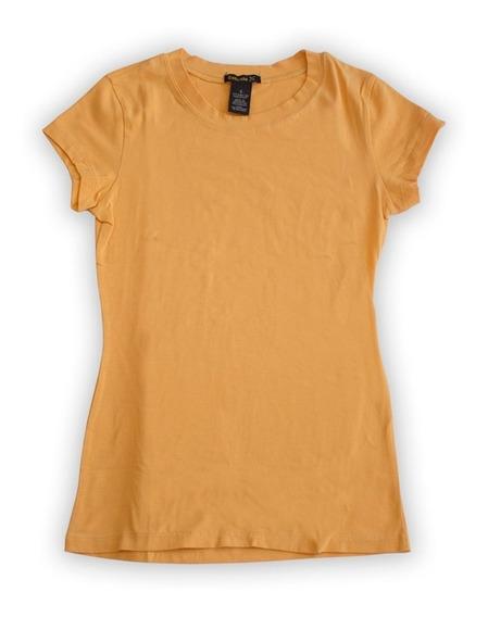 Blusa Exousia X Mujer Talla S Color Amarillo Oscuro