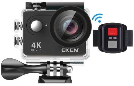 Câmera De Ação Eken 4k Wifi Controle + Bateria Extra