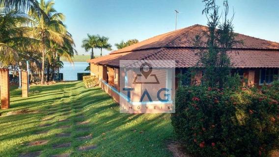 Rancho Residencial À Venda, Condomínio Parque Recreio Moinho De Vento, Penápolis/sp. - Ra0001