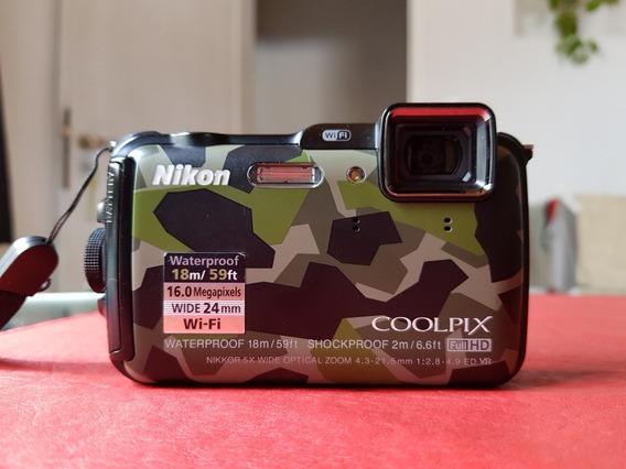 Nikon Coolpix Aw 120 Sumergible
