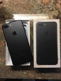 iPhone 7 Plus 128 Black Matte Impecavel