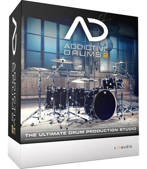 Bateria Loops Vst - Addictive Drums 2 V2.1.9 Envio Imediato