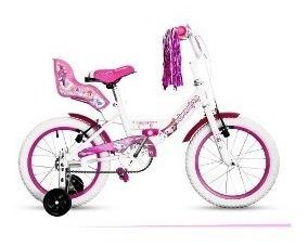 Bicicleta Topmega Rodado 16 Nena Princess Envio Gratis