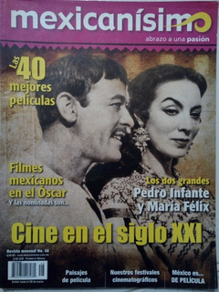 Pedro Infante Y Maria Felix Revista Mexicanisimo 2012