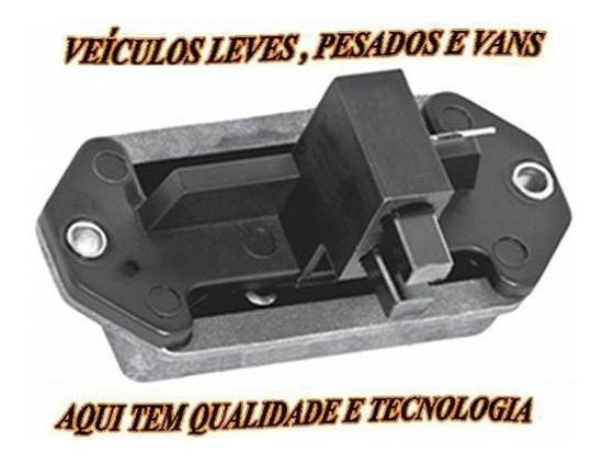 Regulador Voltagem 14v 65a Ford Vw Fiat New Holland Ga059