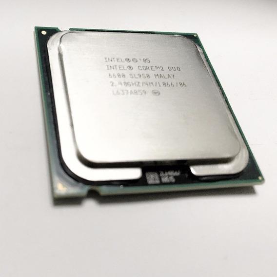Processador Intel Core 2 Duo 6600 2.4 775 Oem Semi Novo