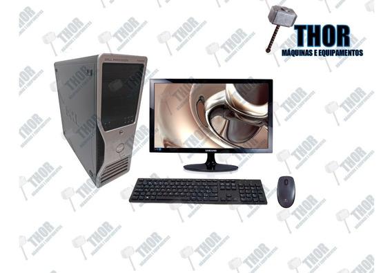 Dell T3400 Com Monitor Samsung 19 Mouse E Teclado