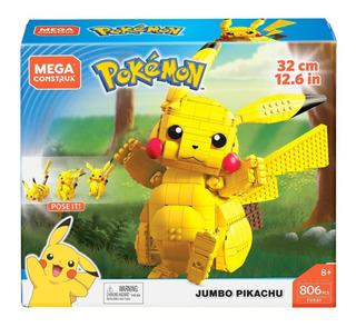 Pokemon - Pikachu Jumbo - Mega Construx - 806 Piezas
