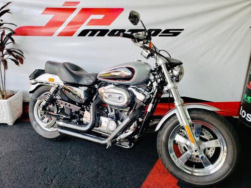 Imagem 1 de 8 de Harley Davidson Xl 1200c Cinza 2015