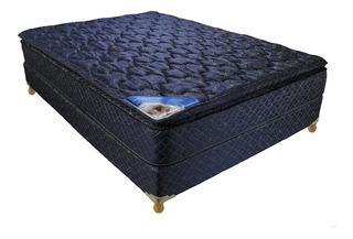 Colchón Sommier Inducol Galia 140x190 Azul Cuotas