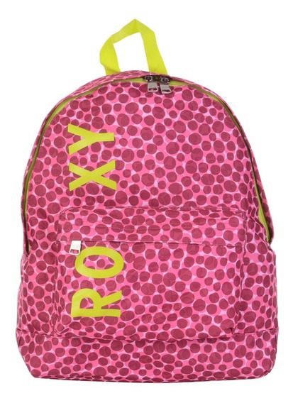Mochila Roxy Sugar Baby Dot On Dots Rosa