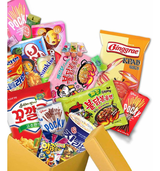 Candy Box 15 Snack Corea Japon +2regalos Kawaii Kpop Envio G