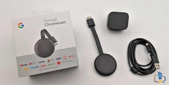 Google Chromecast 3 Novo Transforme Sua Tv Em Uma Smart Tv