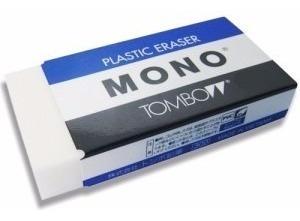 3x Borracha Mono Peq Tombow Plástica *frete+barato*
