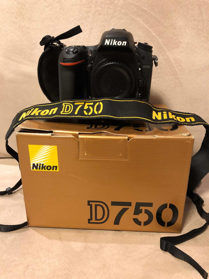Câmera Nikon D750 (muito Nova)