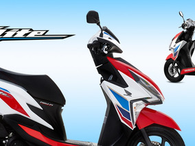 Honda Elite 125 Tricolor - 0km Masera Motos Solo C/dni-m