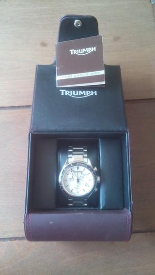 Relógio Triumph Original Inox - Movimento Suíço - Na Caixa