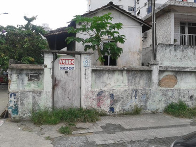 Terreno Residencial À Venda, Encruzilhada, Santos. - Te0034