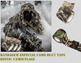 Bandagem Especial P/ Armas Camo Duct Tape Bionic Camouflage