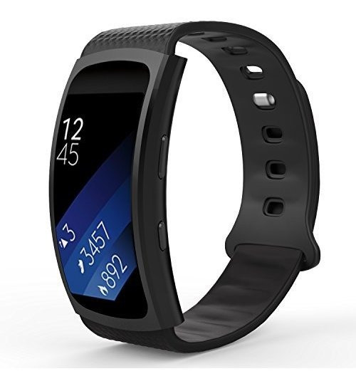 Samsung Gear Fit2 / Gear Fit2 Pro Watch Band, Moko Silicona
