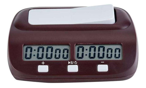 Imagen 1 de 7 de Reloj De Ajedrez Digital Negro Selm, Profesional