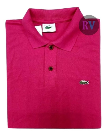 Camisetas Gola Polo Lacoostt Promoção Kit 02 Unidades