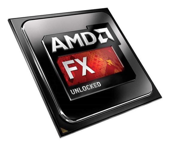 Processador gamer AMD FX 4300 Black Edition FD4300WMHKBOX de 4 núcleos e 4GHz de frequência
