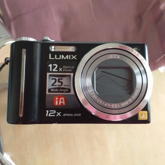 Camera Fotográfica Lumix 12x Optical Zoom Dmc-zs1