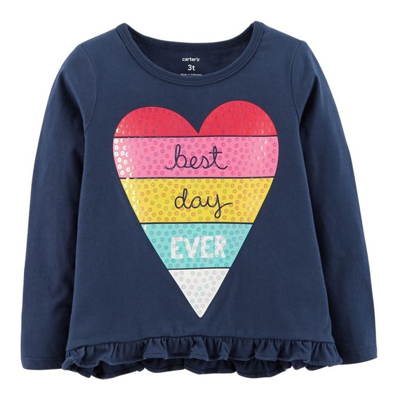 Carters Remeras Nenas Best Day Ever
