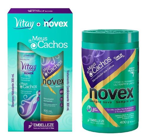 Imagen 1 de 1 de Novex Kit Tratamiento Meus Cachos -shampo - g a $53