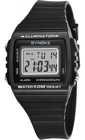 Relógio Masculino Synoke 9708 Digital A Prova D