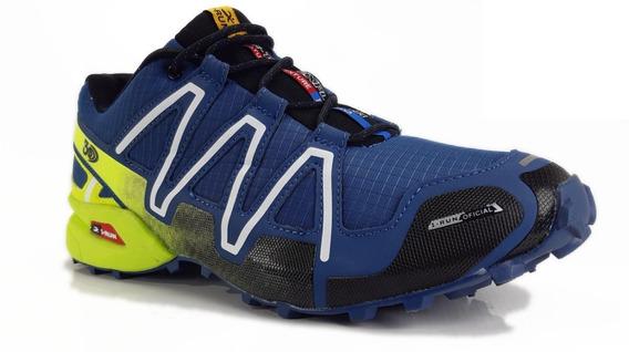 Zapatillas Irun Para Hombre 3742 Trekking Running Premium