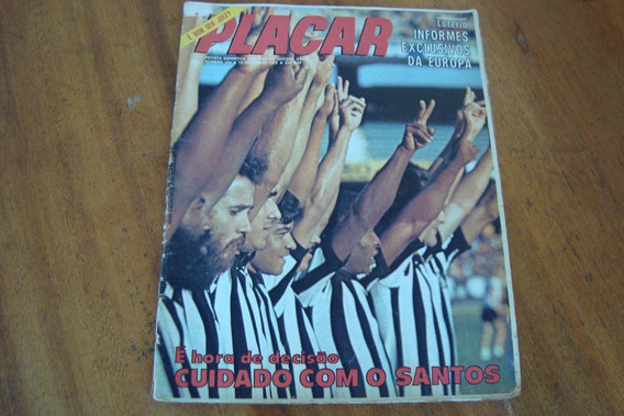 Placar 144 / Poster Ceara Sc E Pontes Do Inter / Santos