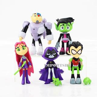 Bonecos Jovens Titãs Teen Titans Go! Os Jovens Titãs Em Ação