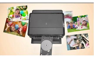 Canon Pixma Ip7210 Imprime Sobre Cd, Dvd,blue Ray