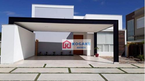 Casa Com 3 Dormitórios À Venda, 240 M² Por R$ 1.980.000,00 - Condomínio Loteamento Reserva Das Figueiras - São José Dos Campos/sp - Ca2743