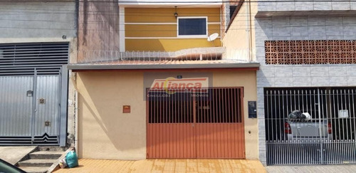 Sobrado Com 3 Dormitórios À Venda, 128 M² Por R$ 380.000,00 - Vila Paraíso - Guarulhos/sp - Ai20604