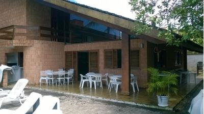 Casa Juquehy (litoral Norte) 1 Quadra Da Praia - 0076t